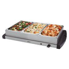triple buffet server small kitchen appliances ebay