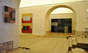 sean scully fills a spanish monastery with bursts of color the