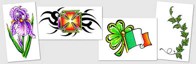 tattoo designs u0026 symbols ivy infinity irish insects iris
