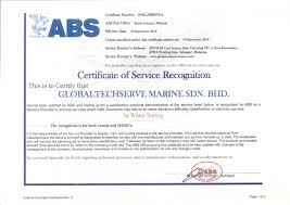 bureau of shipping bureau of shipping abs certification globaltechserve marine