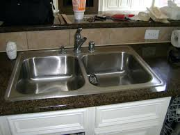 Kitchen Sink Install How To Replace A Kitchen Sink Cost To Replace Kitchen Sink