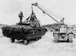 amphibious truck dukw amphibious truck loaded with supplies okinawa 1945 world