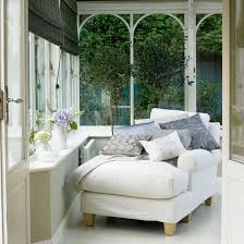 White Conservatory Conservatory Design Spaces And Room - Conservatory interior design ideas