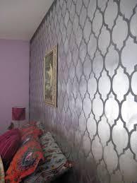 Decorative Wall Stencils Cutting Edge Stencils Don U0027t Be A Bore Use Metallic Wall Decor