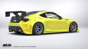widebody subaru brz ml24 2013 2016 subaru brz version 2 wide body kit automotive