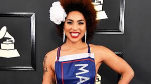 Grammys 2017 5 Biggest Controversies Of All Time Music - joy villa wears donald trump dress make america great again at