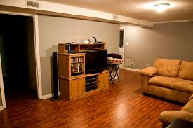 Funky Laminate Flooring Ohh Baby Basement Reveal Part 1 The Den