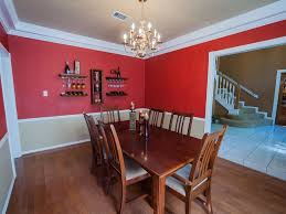 dining room two tone paint ideas design home design ideas