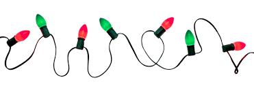Christma Lights Lights Clip Black And White Light