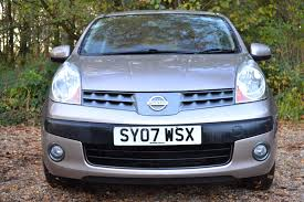 nissan note 2007 used nissan note 1 6 se 5 doors mpv for sale in chandlers cross
