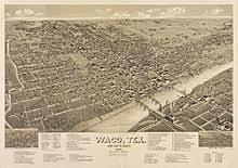 map waco waco