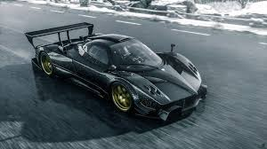 pagani zonda wallpaper pagani zonda r race car track speed spoiler hd wallpaper