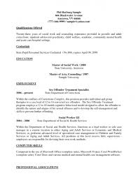 social work sample resume resume for your job application