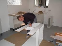 monter une cuisine leroy merlin montage de la cuisine l atelier de tif n et jp
