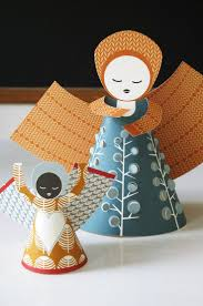 110 best paper angels images on pinterest christmas ornaments