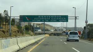 mexico toll road map mexico s highway 1 photo directions
