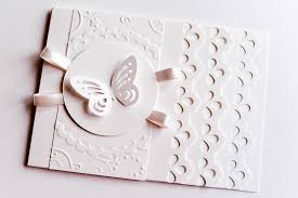 how to make wedding first communion greeting card step by step