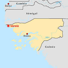 Guinea Africa Map by Coastal Erosion In Northwestern Guinea Bissau West Africa