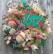 25 unique welcome wreath ideas on front door wreaths