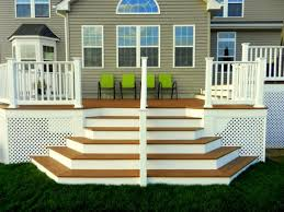 Back Porch Stairs Design Second Story Deck Stairs Ideas Deck Stair Designs Second Floor