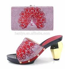 wedding shoes in nigeria 2017 high heel nigeria party shoes and bag set jon10