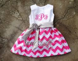 monogram baby items monogrammed baby easter dress pink and white chevron with