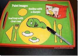dr seuss u0027 green eggs u0026 ham crafts