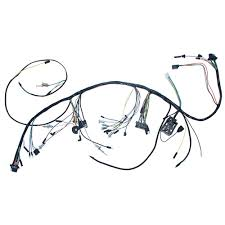 1965 mustang wiring harness mustang underdash wiring harness with gauges 3 speed heater 1965