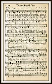 Old Rugged Cross Music Digital Download Printable Hymn Page The Old Rugged Cross For
