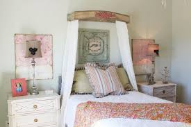 Shabby Chic Bed Frame Bedroom Excellent Leirvik Bed Frame For A Shab Chic Style With