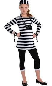 Black Halloween Costumes Girls 25 Prison Costume Ideas Kid Cops Prison