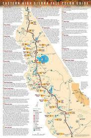eastern sierra free guide points fall color spots latimes