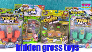 grossery gang trash pack ugglys blind bag toy review opening