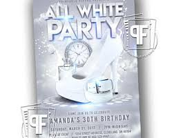 all white party all white party invitation white party invitation summer