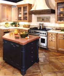 Two Tone Kitchen by Two Tone Kitchen Cabinets Brown And White Stainless Steel