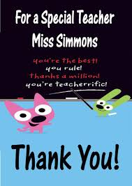 thank you cards for teachers friendship thank you cards for teachers sayings also free