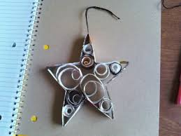 recycled magazine ornaments how to make a paper model quilling