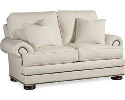 Thomasville Benjamin Leather Sofa by Loveseats Living Room Thomasville Furniture