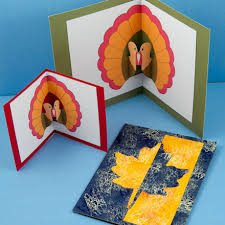 up thanksgiving turkey make a thanksgiving pop up card fall and thanksgiving crafts