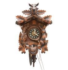 Antique Cuckoo Clock West German Made Cuckoo Clock Ebth
