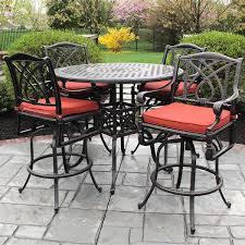 balcony height swivel patio chairs patio decoration ideas
