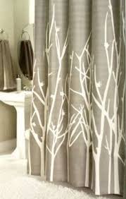 Shower Curtains With Trees Birds And Blooms Floral Shower Curtain Bird Floral Shower