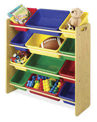 amazon com whitmor kid u0027s 12 bin organizer primary colors home