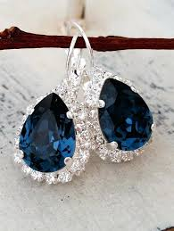 navy blue earrings navy blue chandelier earrings for stylish property decor