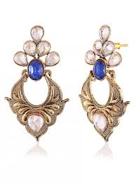 artificial earrings heavy designer collection in artificial jewellery of earrings in