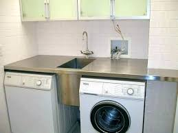 washer that hooks up to sink sink washer small sink next to washer dryer continuous surface
