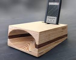 edison wood gramophone cell phone speaker wireless