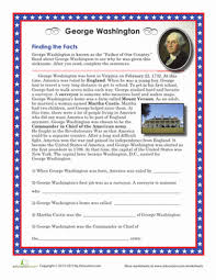 president u0027s day coloring worksheet george washington worksheets
