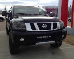nissan titan nismo exhaust dealer spotlight lloydminster nissan titan truck stillen garage