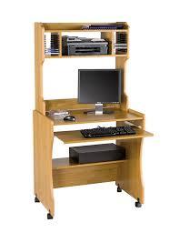 Cream Desk With Hutch Furniture Alluring Computer Desk Small Room Design Ideas